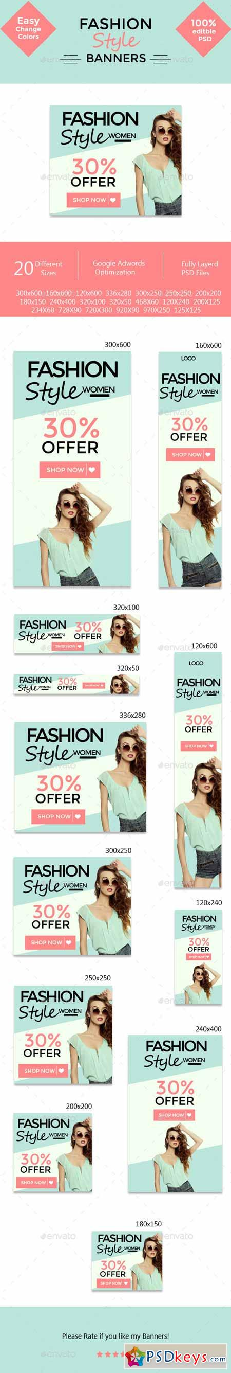 Fashion Style Banners 11322292