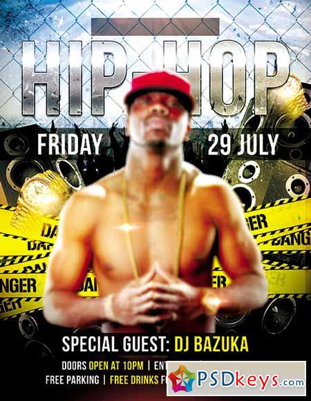 Hip Hop Flyer Flyer Psd Template Fb Cover Free Download