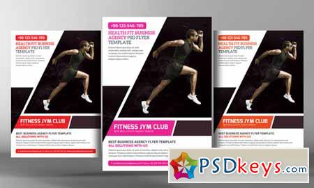 Fitness Gym Flyer Template 269305 Free Download Photoshop Vector – Free Fitness Flyer Templates