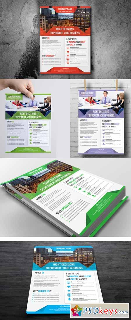 Creative Business Flyer Template   Free Download Photoshop
