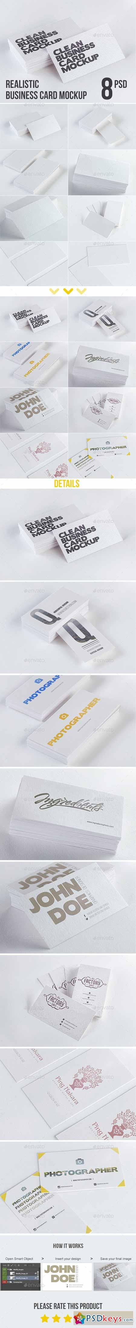 simple business card mockup  free photoshop