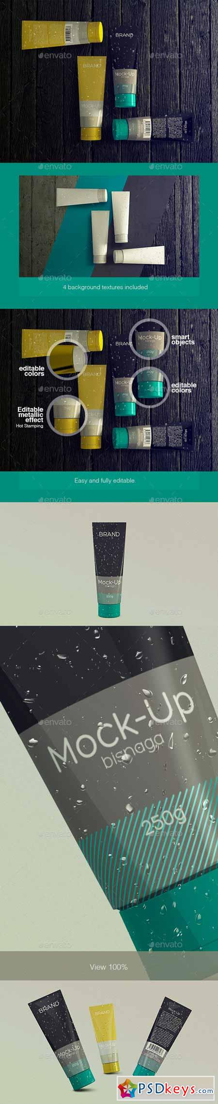Realistic Cosmetics Packaging - Mock-up 11456642