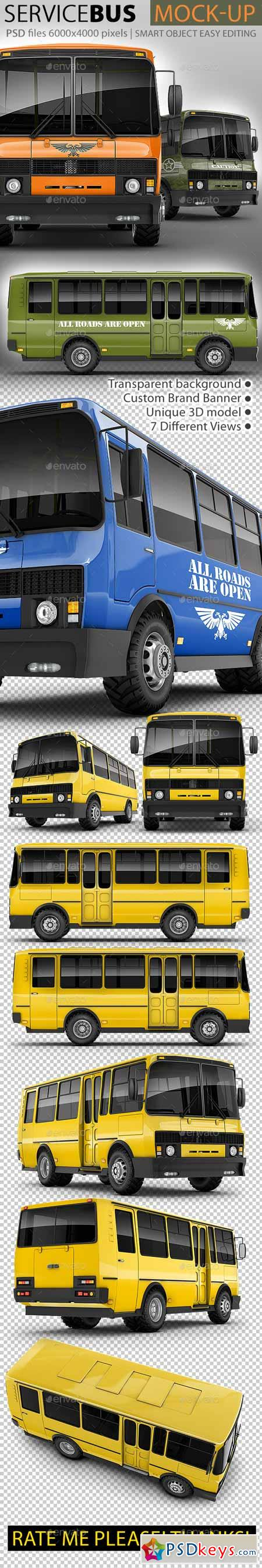 Service Bus Mock-up 11454062