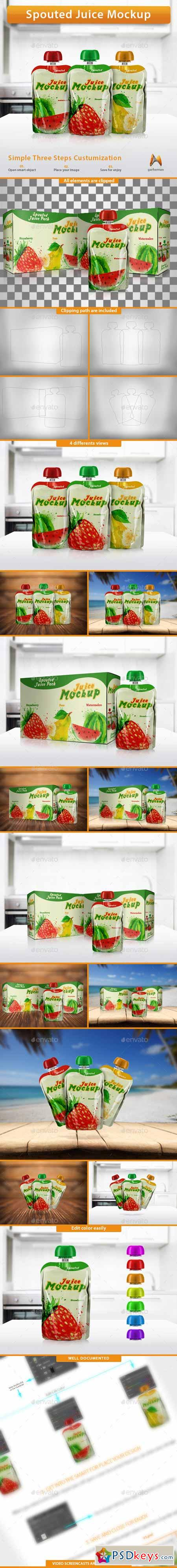 Spouted Juice Mockup 10685137