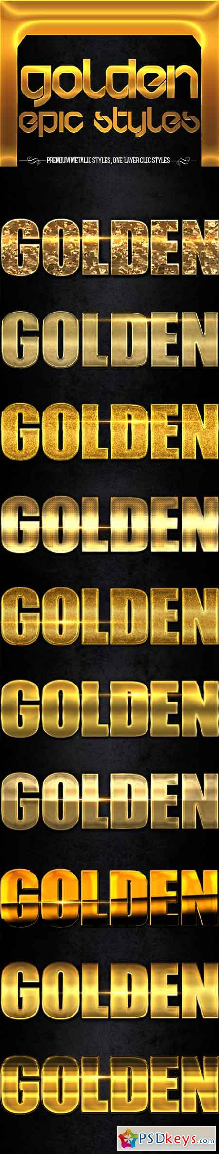 Golden Epic Styles 11471211