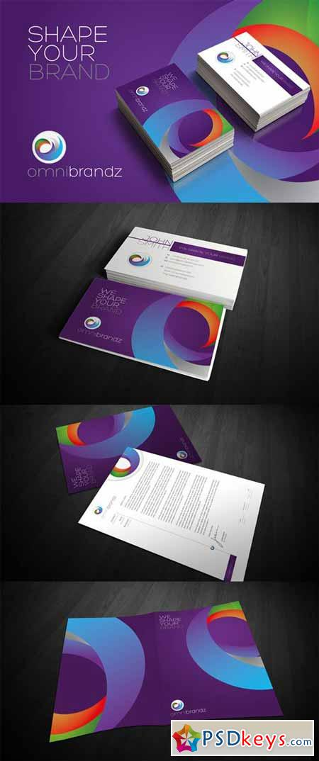 RW Modern Colourful Identity + Logo 59841