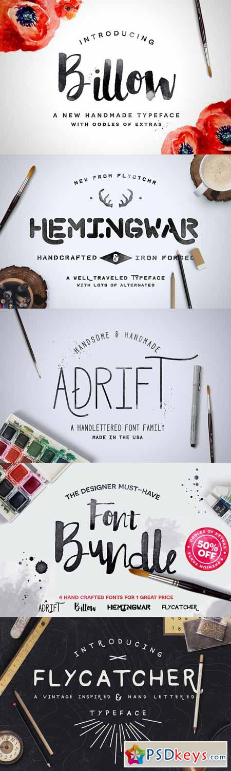 Hand Crafted Font Bundle 277034