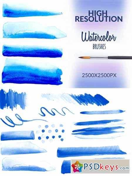 Watercolor Brushes 108995