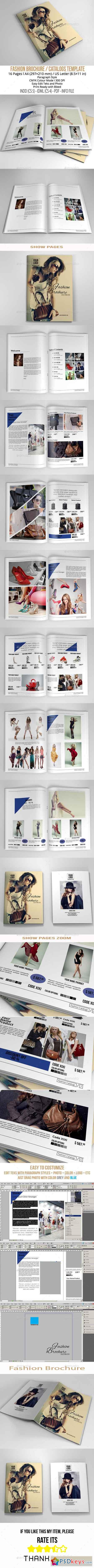 Fashion Brochure A4 US Letter 11104898