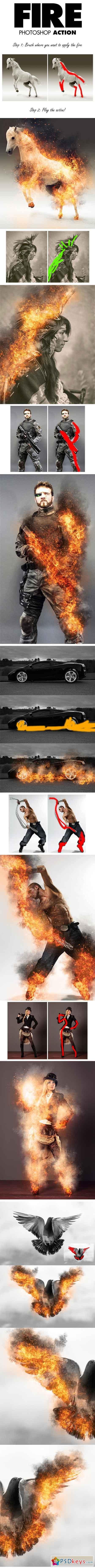 Action lửa cháy