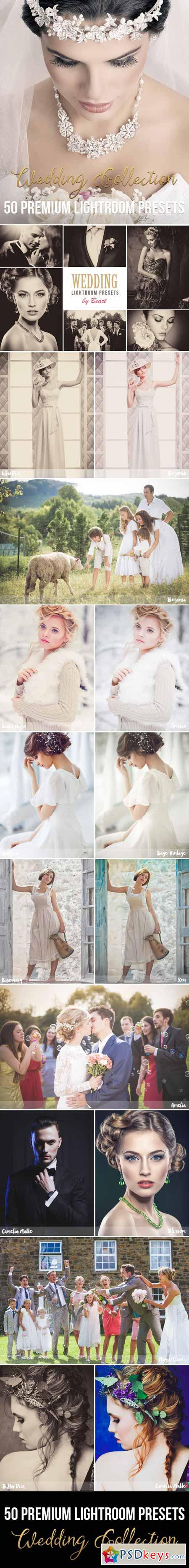 50 Premium Wedding Lightroom Presets 11494445