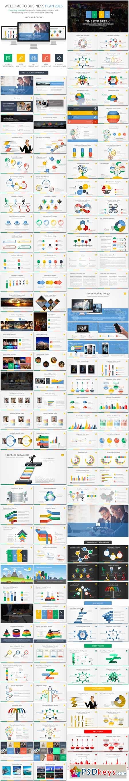 Business Plan 2015 Powerpoint Template 11318924