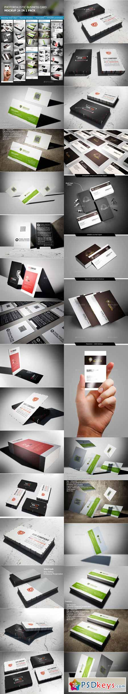 Business Card 24 in 1 Bundle 11530204