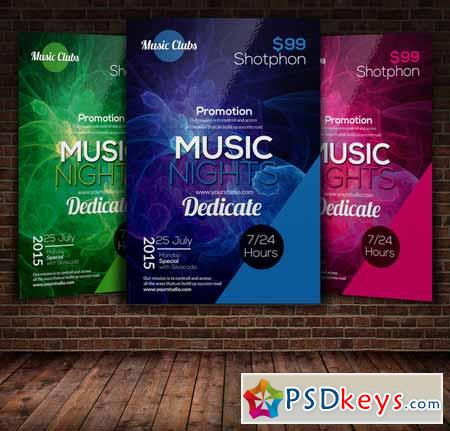 Music Party Flyer Template 272001