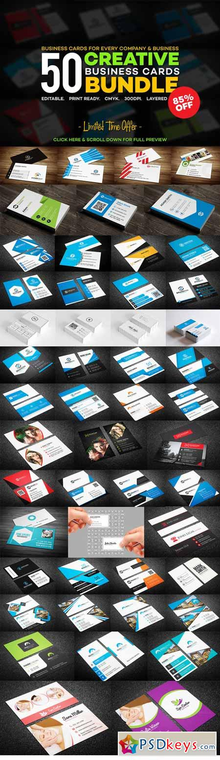 50 creative business card bundle 277378 free download photoshop 50 creative business card bundle 277378 reheart Images