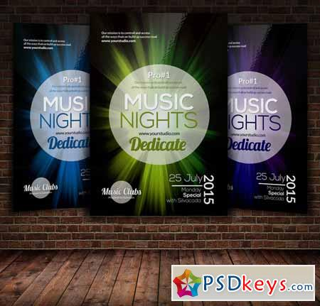 Music Party Flyer Template 271568
