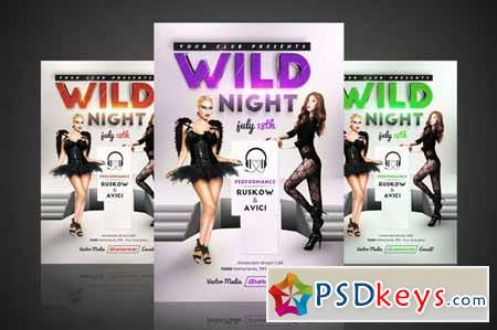 Wild Night - Flyer 282120