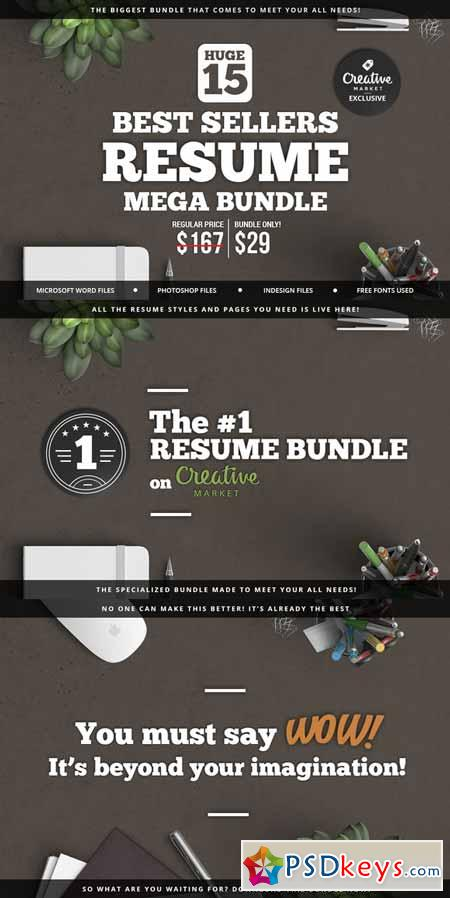 best sellers resume mega bundle 257350  u00bb free download