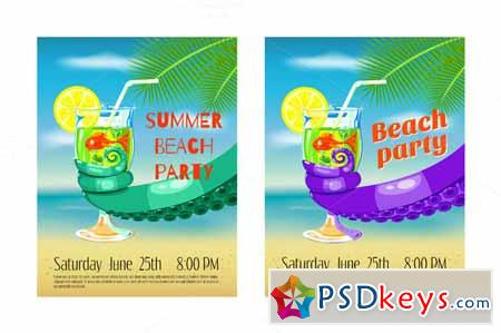 Set of posters Enjoy the summer! 277440