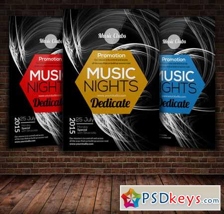 Music Party Flyer Template 271584