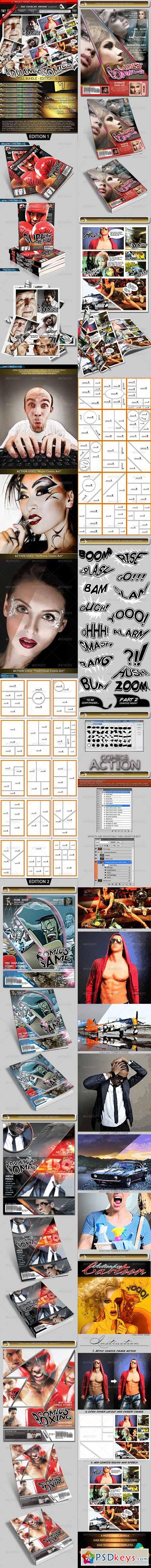 Advance Comics Publication Kit - Full Bundle 2524448