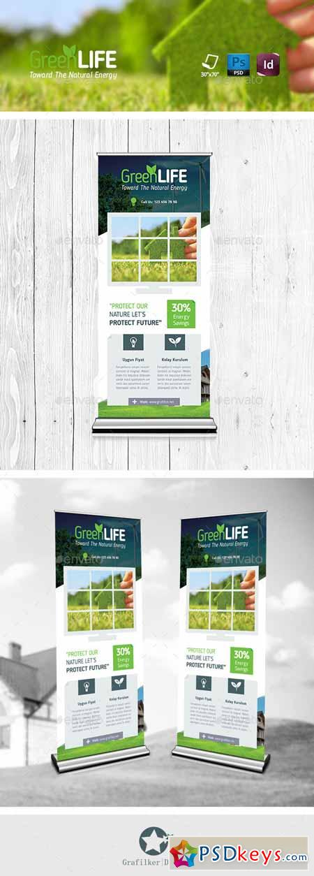 Green Energy Roll-Up Templates 11570127