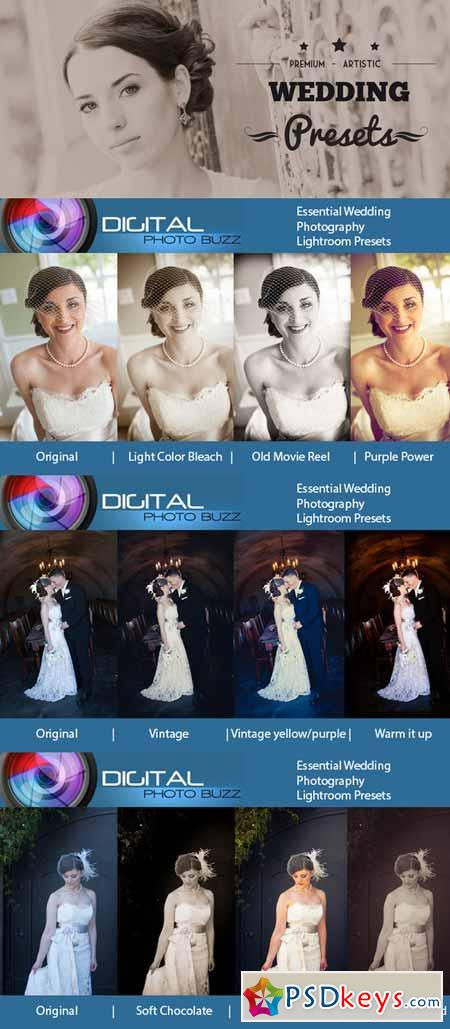 Essential Presets for Weddings 281679