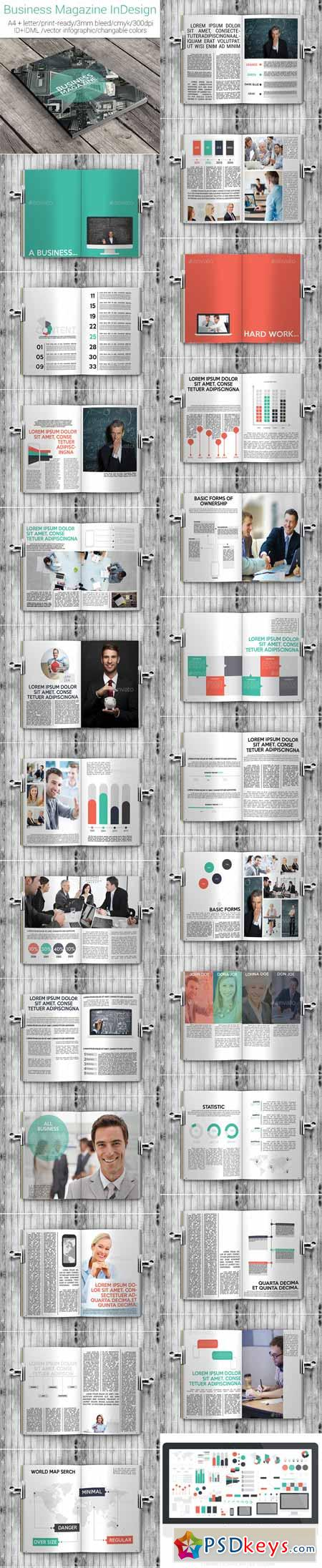 Business magazine indesign a4letter template 11540750 free business magazine indesign a4letter template 11540750 spiritdancerdesigns Gallery