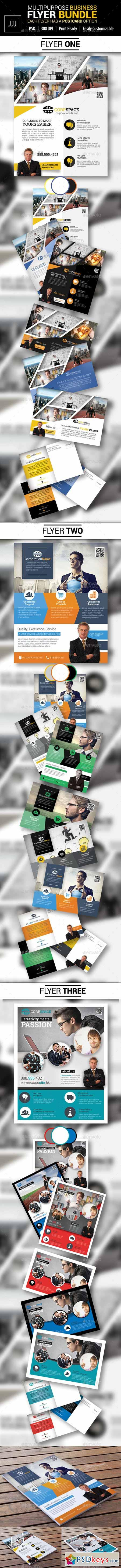 Business Flyer Bundle with Postcard Options 11551364