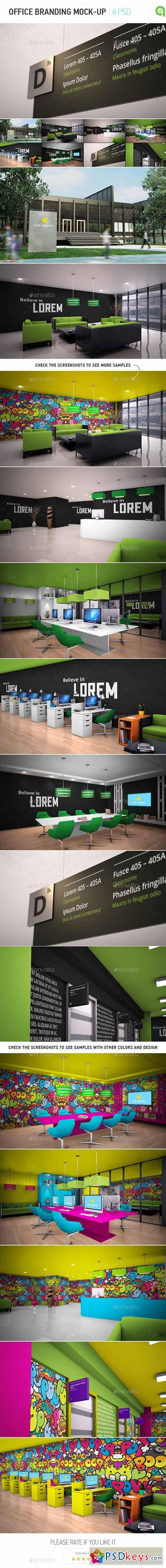 Office Branding Mock-up 11715551