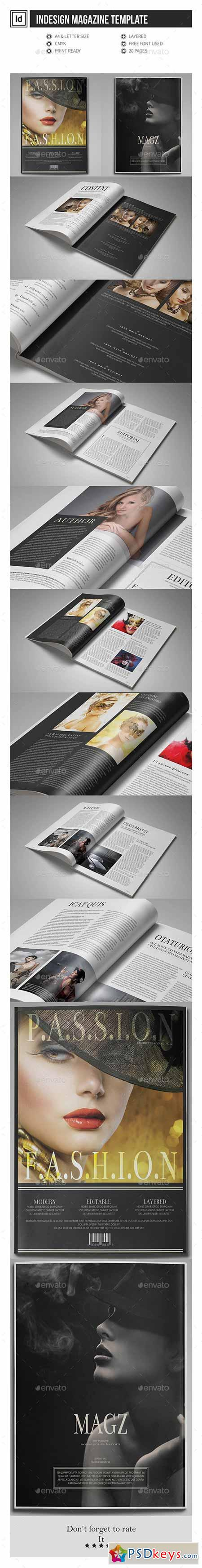 Multipurpose indesign magazine template 11655513 free for Adobe indesign magazine templates free download