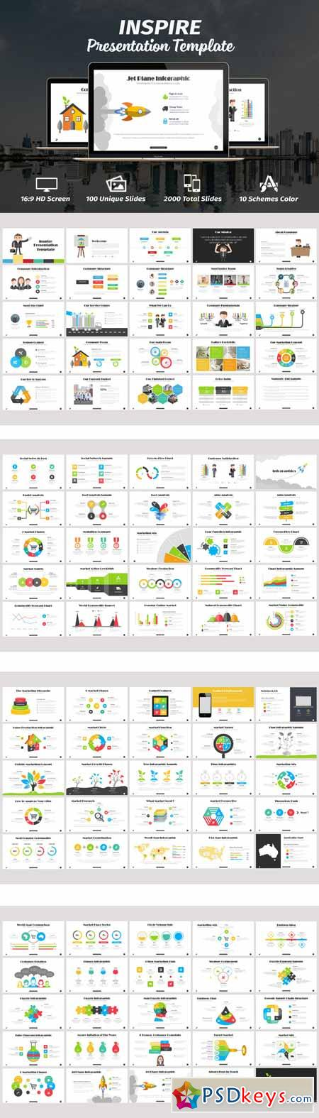 Inspire Powerpoint Template 287472