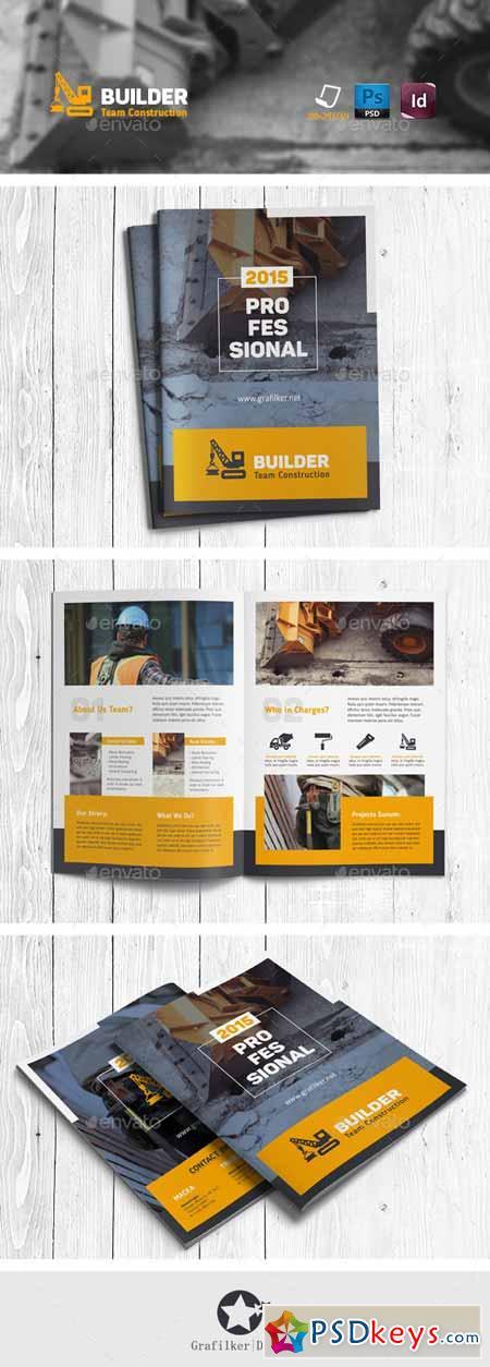 Construction Brochure Templates 11709345 Free Download Photoshop