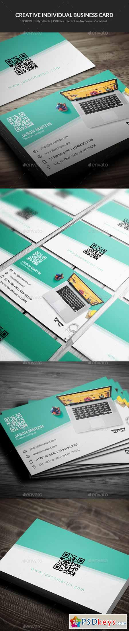 Creative Individual Business Card - 09 11735114