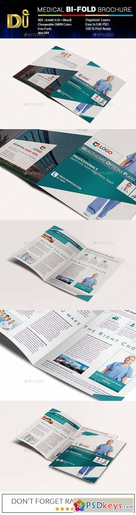 2 fold brochure template photoshop - medical bi fold brochure 11770691 free download
