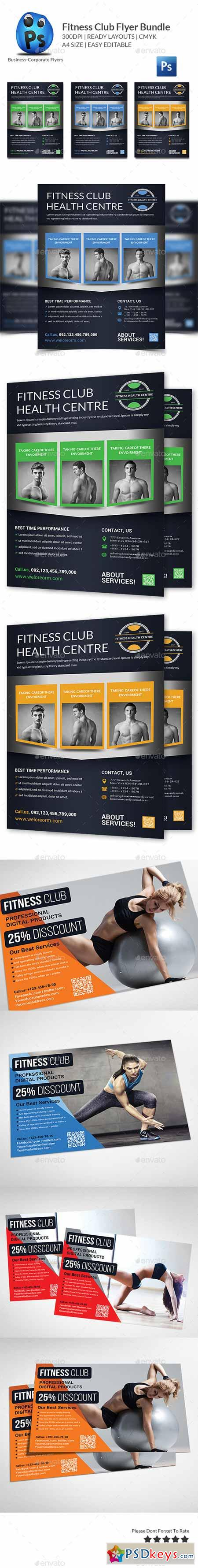 Health, Sports, Fitness Flyer Bundle 11769932