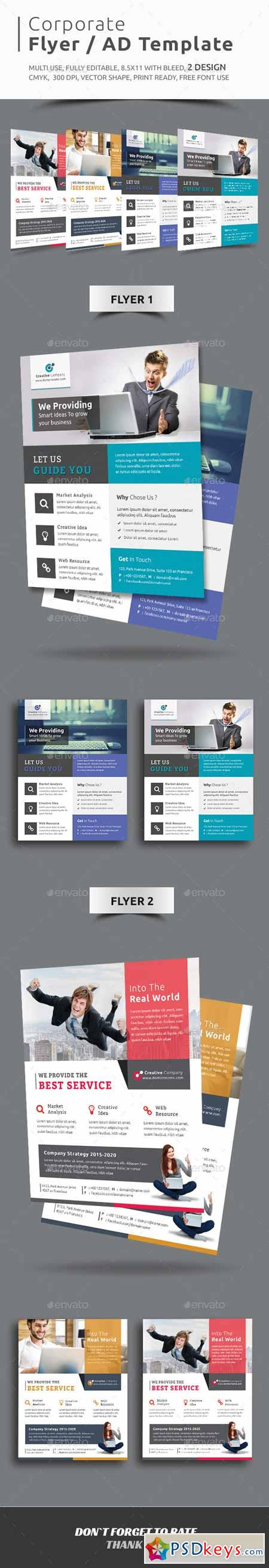 corporate flyer ad template photoshop corporate flyer ad template 11769827