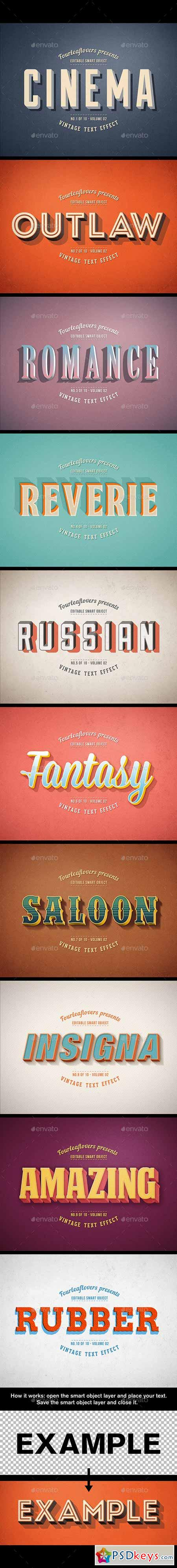 Retro PSD Text Effects vol.2 11754168
