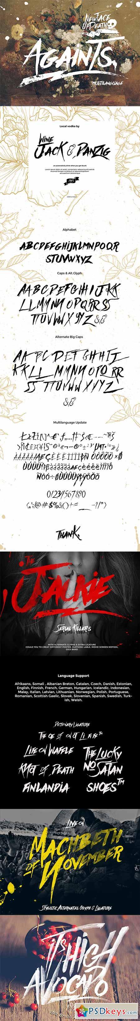 Againts Typeface 11548354
