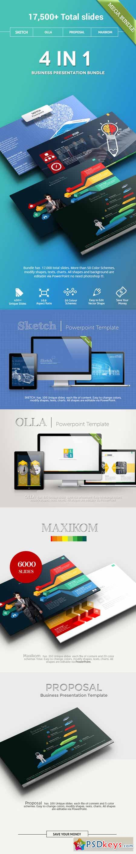 4 in 1 mega bundle powerpoint 11377265 free download for Powerpoint templates torrents