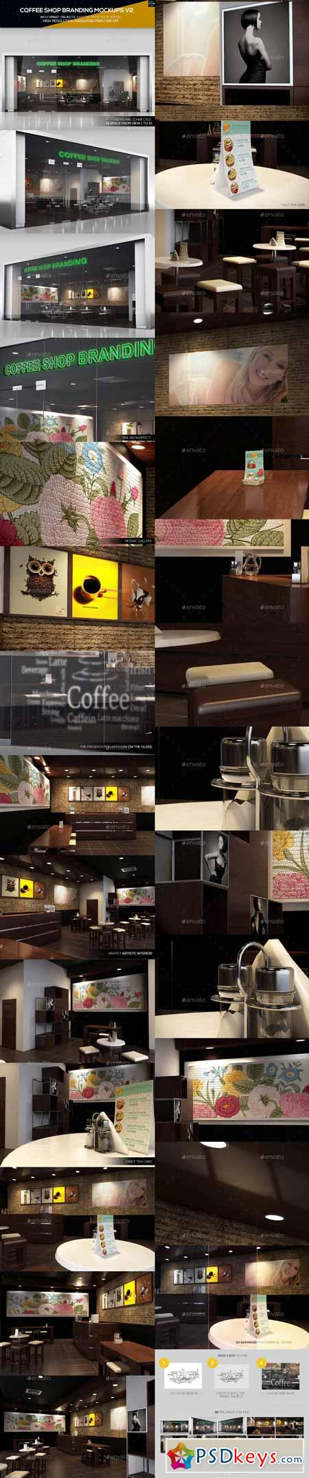 Coffee shop branding mockups v2 11183371 free download for Coffee shop design software