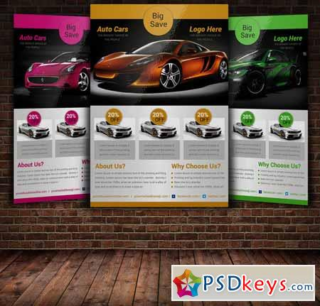auto car flyer template 227658 free download photoshop vector