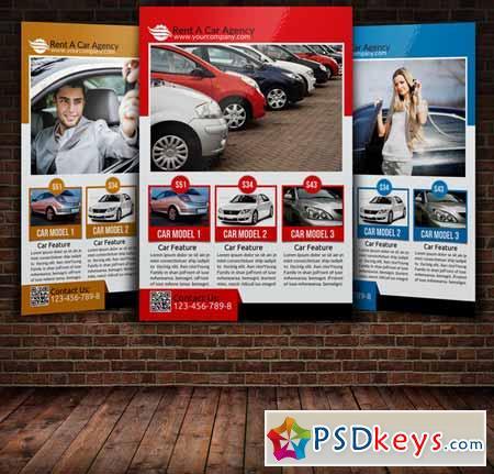 Rent A Car Flyer Template 221701  Car Flyer Template
