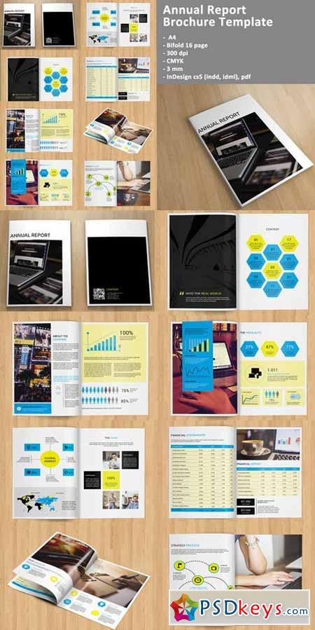 free indesign brochure templates cs5 - indesign annual report brochure 294468 free download