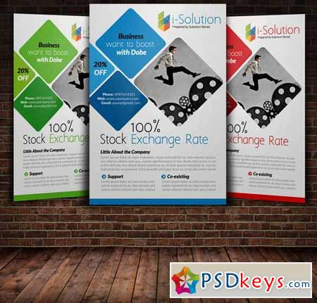 Business Flyer Template 219921 Free Download Photoshop Vector