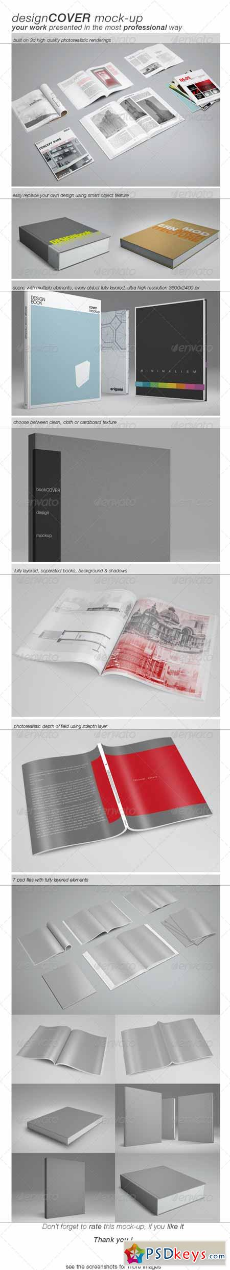 Book Cover Mock-up 4507265