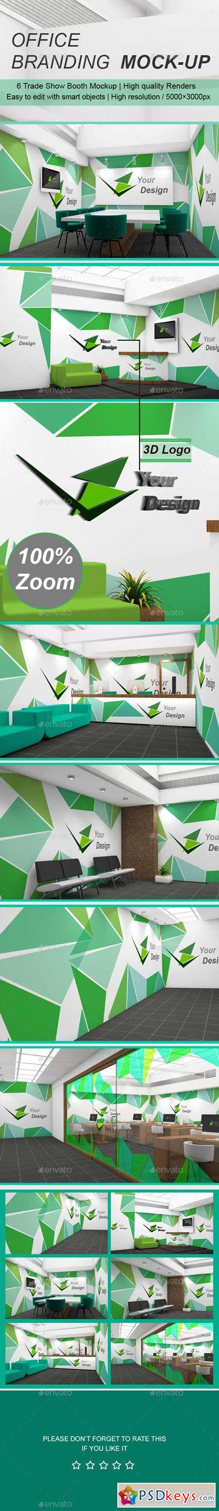 Office Branding Mock-up 11800418