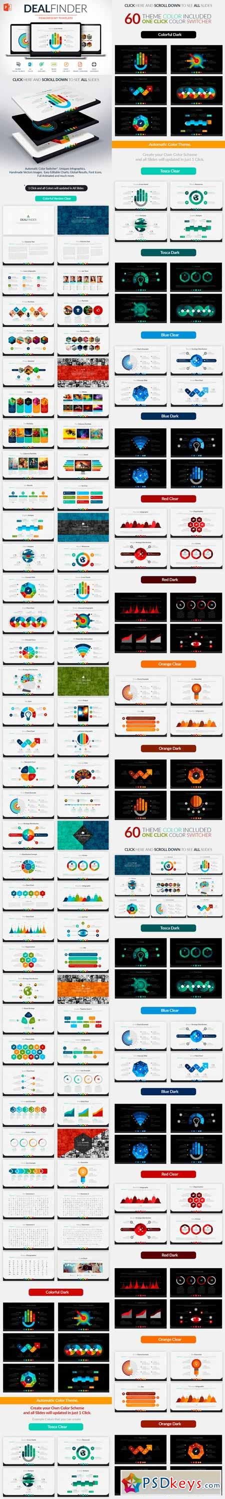 Deal Finder Powerpoint Template 299329