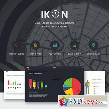 IKON - Multipurpose Presentation Template 11809251