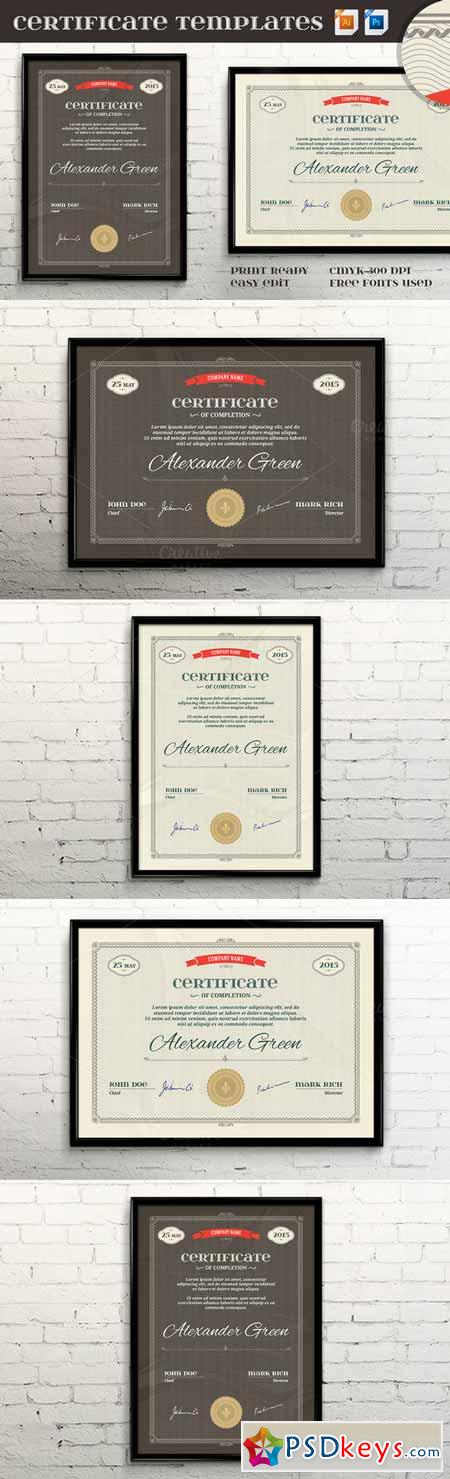 Certificate templates vectorpsd ii 302347 free download photoshop certificate templates vectorpsd ii 302347 yadclub Gallery